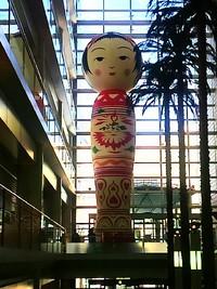 12mの巨大こけし花子さん