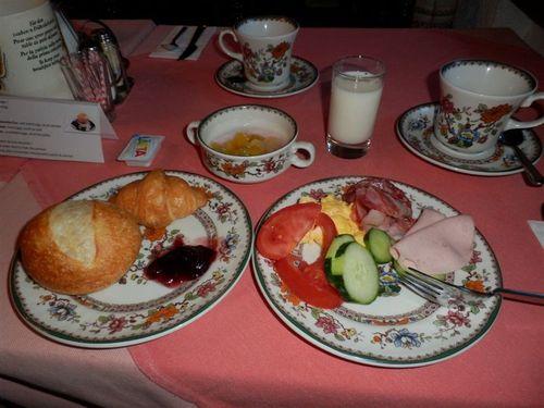 ツエルマットの朝食