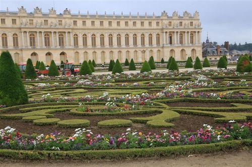 ベルサイユの庭園