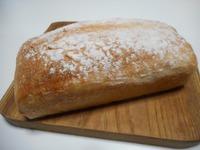 簡単ふわもちでこねずに出来ました~しっとり食パン~