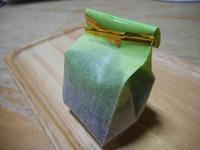 ここぱんは和菓子も作ります 茶ちゃきん羊羹