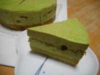 抹茶ムースのケーキは癒しの味 2018/03/16 22:31:44
