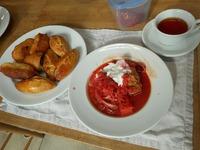 ボルシチ&ピロシキ ロシア料理を習ってきました