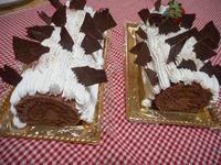 ノエルショコラロールケーキを作成at12/12