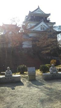 岡崎公園は家康生誕祭でした(ラン便り)