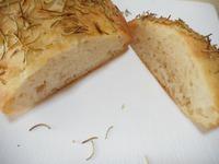 ここぱんはうす 簡単ふわもちパン~どでかフォカッチャ。ミルクパン~