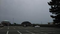 蒲郡竹島のロングランは曇り日和