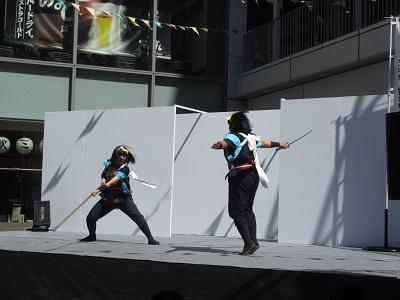 鎌田流 棒の手演舞!