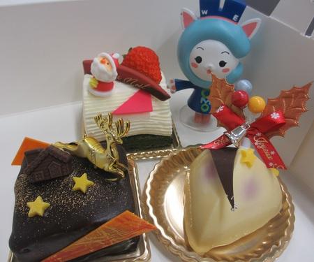 クリスマスを彩るケーキ♪