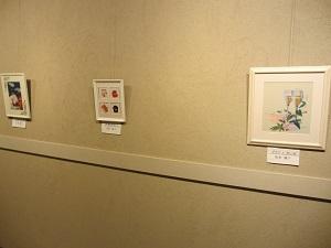 竜神交流館「しゅんこう」和紙ちぎり絵展