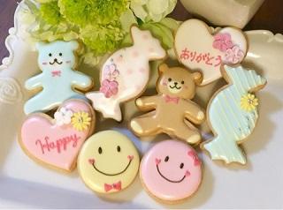 アイシングクッキー体験できます♪