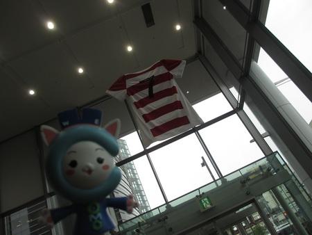 日本代表ユニフォーム展示中!