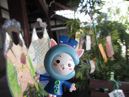 おかみさん会の七夕まつり開催中!