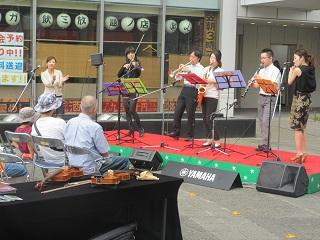 ヤマハの楽器体験イベント♪