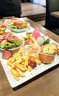 酒場~ル DENさんで彩り野菜たっぷりのバーニャカウダーランチ(豊田市)