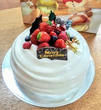 BOULE BOULEさんのクリスマスケーキでMY BIRTHDAY