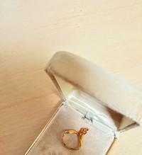 指輪のプレゼント
