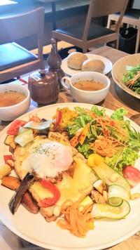 豊田市の農家カフェ【ころも農園】さんでランチ、ハバネロに挑戦。