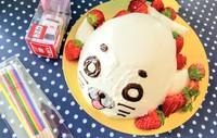 ベーレンさんで立体ケーキをお願いしました♪