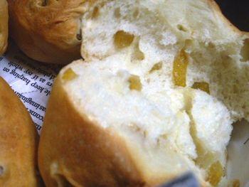 おうちパン かぼすピールパン