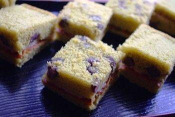 抹茶あずきケーキ たべりん亭