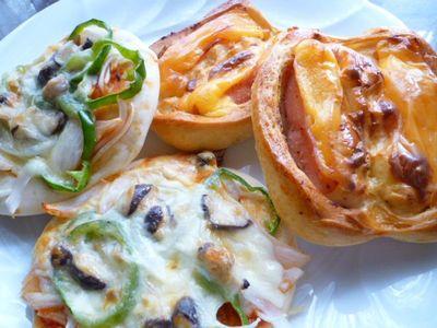 おうちパン 総菜パン2種