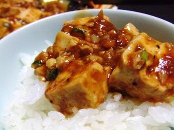 陳建一レシピの本格四川麻婆豆腐