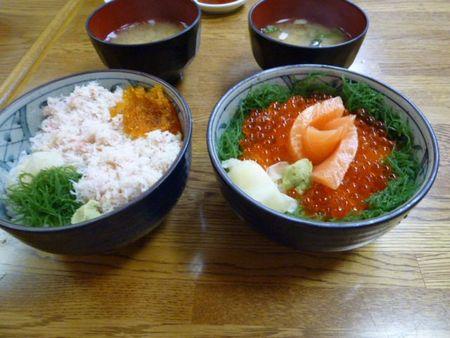 北海道フェリー旅⑥小樽ポセイ丼で海鮮丼をいただく