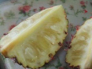 桃の香りがする不思議なパイン ピーチパイン