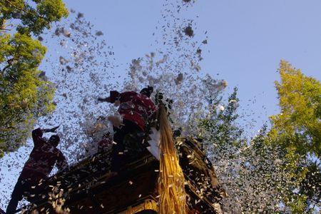挙母祭り 曳き出し2012