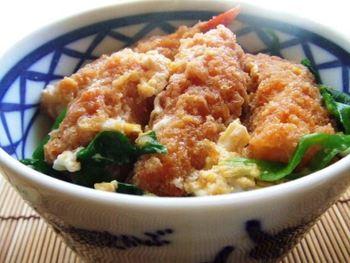 海老フライ丼 たべりん亭