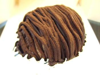 さっぽろろまん亭のチョコモンブラン