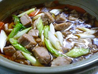 江戸っ子の味 ねぎま鍋