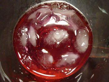 赤紫蘇ジュース作りました