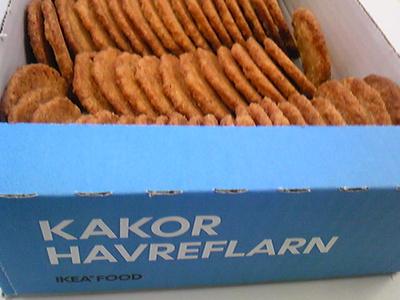 IKEAのクッキー