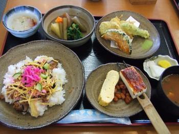 道の駅おばあちゃん市山岡 おふくろ定食