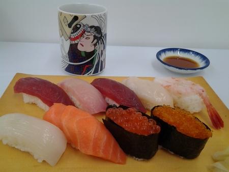 小樽「しかま」の寿司 北海道物産展メグリア本店