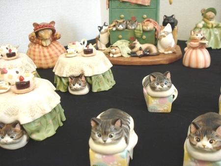 笑美寿(えびす)猫展!?喫茶 楽風にて