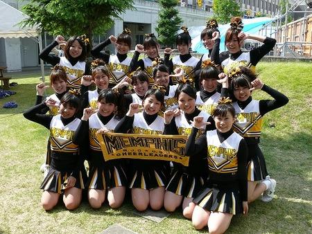 名古屋短期大学 チアサークル 「MEMPHIS」参加決定!