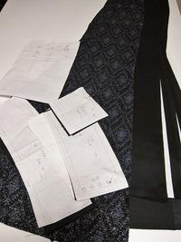 着物リメイク スカート