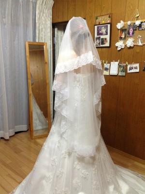 完成ウェディングドレス♡