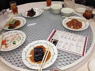 桃園で個室中華料理ディナー トヨタキャッスルホテル(豊田市)
