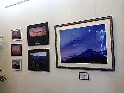 楽風さんでランチ❤富士山の写真展開催中(豊田市)
