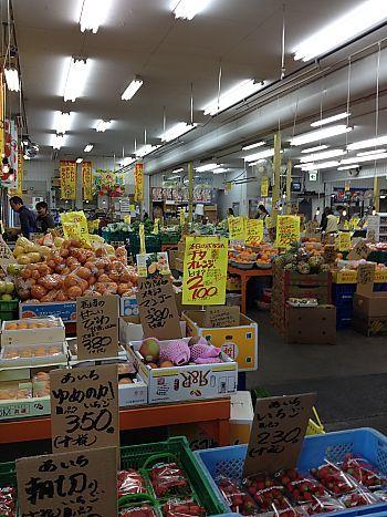 ピカイチに行ってきました  豊田市市民市場