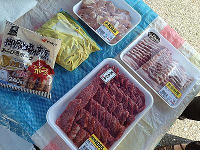 久しぶりのBBQ~♪豊田市民市場☆ピカイチさんのお肉勢ぞろい!