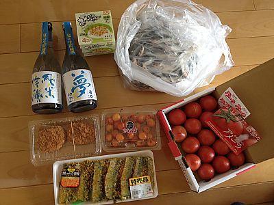 今夜はイワシ祭りだ~~!菊石夏期限定純米生貯蔵酒