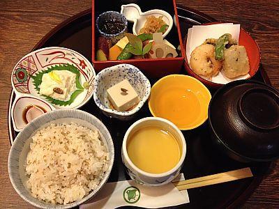 豆庵で和食ランチ(豊田市駅前)