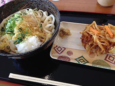 信長製麺でセルフうどん食べてきたよ(豊田市) 2015年1月末閉店