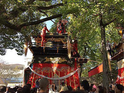 挙母祭り2014 曳き込み(豊田市)