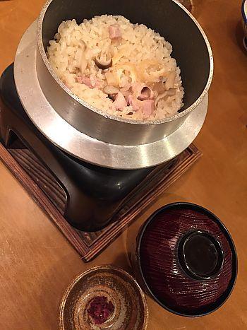 旬菜京肴 いっこく 豊田宮上店で釜飯ランチ